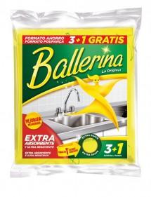 BALLERINA BAYETA AMARILLA LOTE AHORRO 3+1 GRATIS