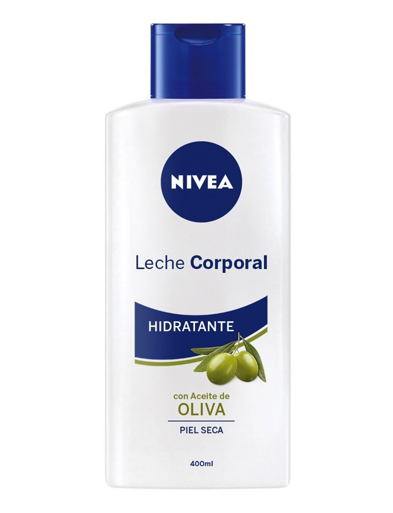 NIVEA BODY MILK 400ML CON ACEITE DE OLIVA PIEL SECA