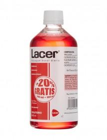 LACER COLUTORIO 500ML + 100 ML GRATIS