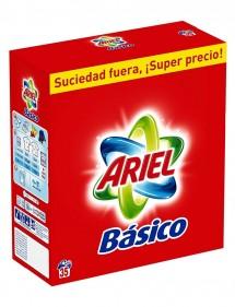 ARIEL DETERGENTE POLVO BASICO 35 CACITOS