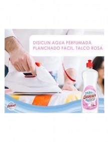 DISICLIN AGUA PERFUMADA PARA PLANCHA TALCO ROSA 1 LT.