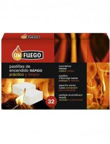 OK FUEGO 32 PASTILLAS ENCENDIDO RAPIDO (FLOWER)