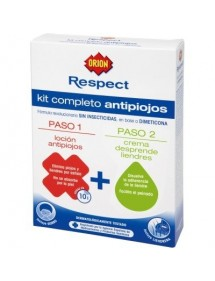 ORION RESPECT ANTIPIOJOS LOCION 100ML+CREMA 100ML