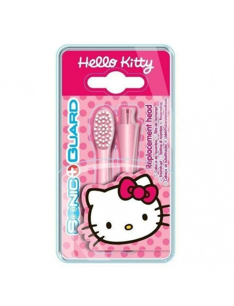 CEPILLO DENTAL ELEC. RECAMBIO HELLO KITTI