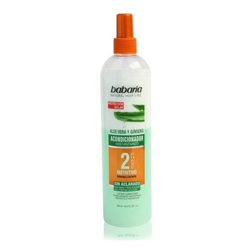 BABARIA ACONDICIONADOR BIFASICO ALOE SPRAY 500ML