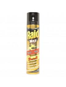 RAID MAX INSECTICIDA CUCARACHAS Y HORMIGAS SPRAY 300ML