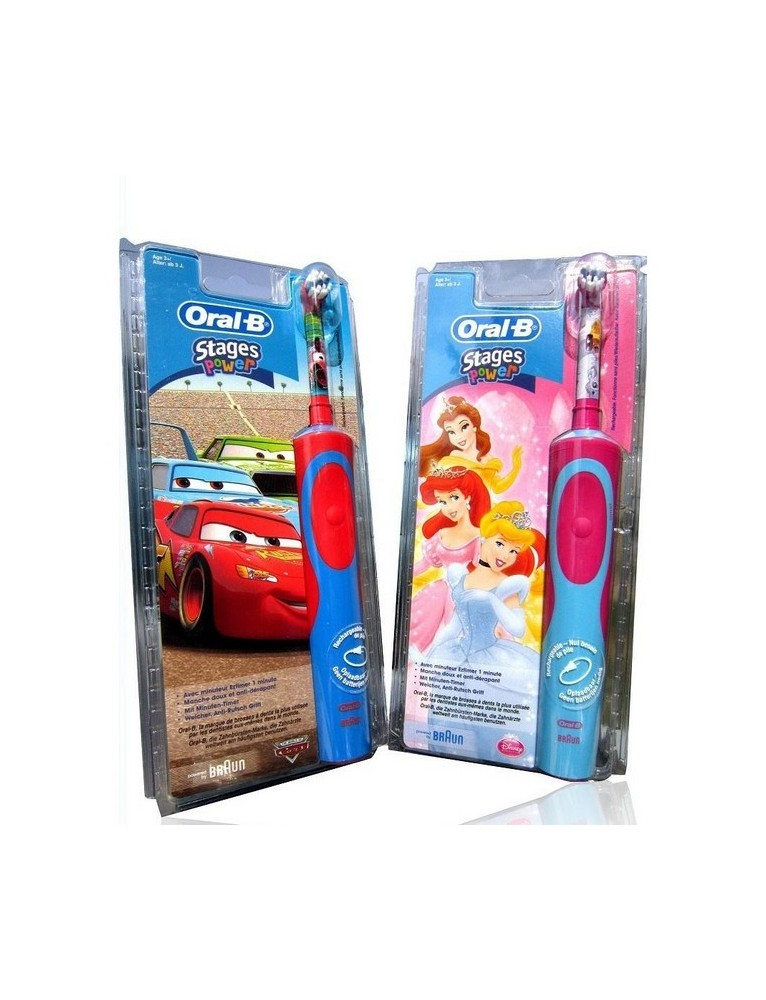 CEPILLO ELECTRICO ORAL B INFANTIL VIT. STAGES POWER