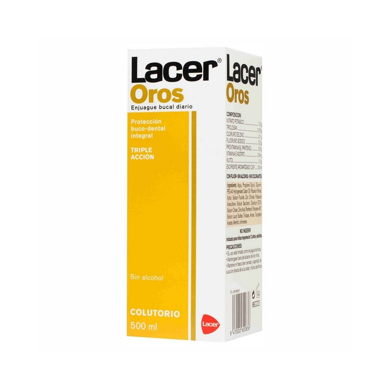 LACER COLUTORIO OROS 500ML