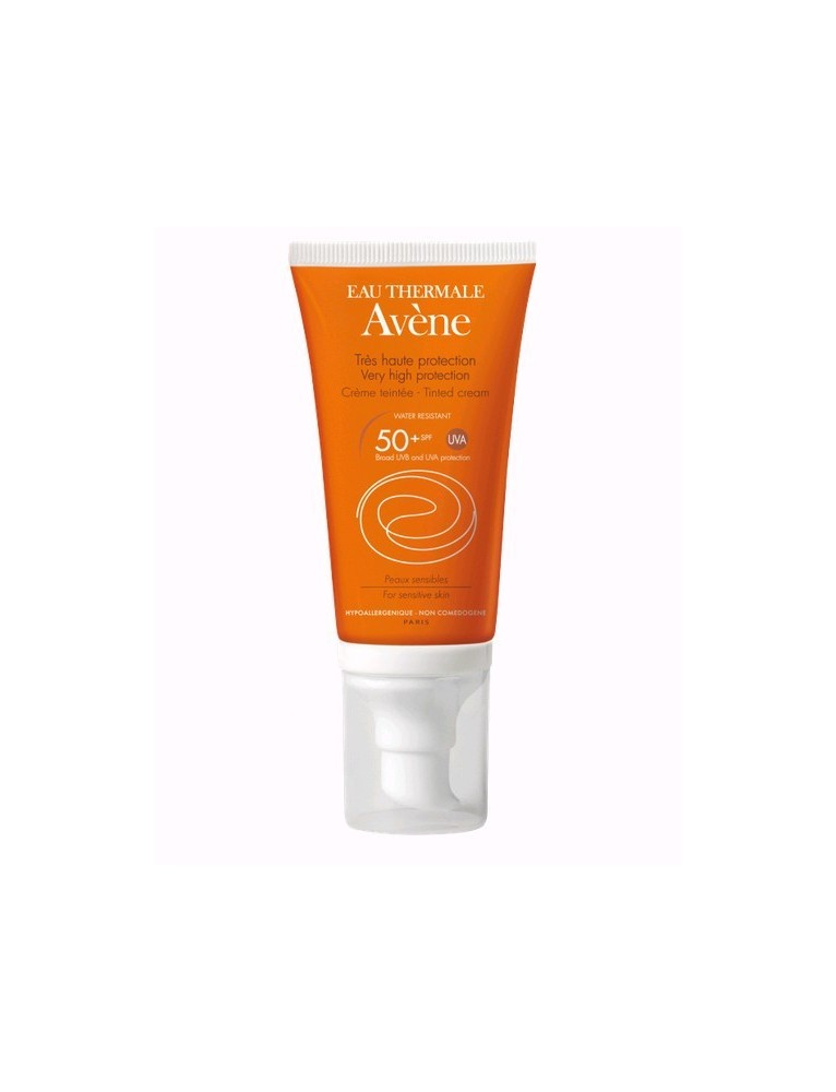AVENE SOLAR CREMA FACIAL COLOREADA PIEL SENSIBLE SFP50+ 50ML
