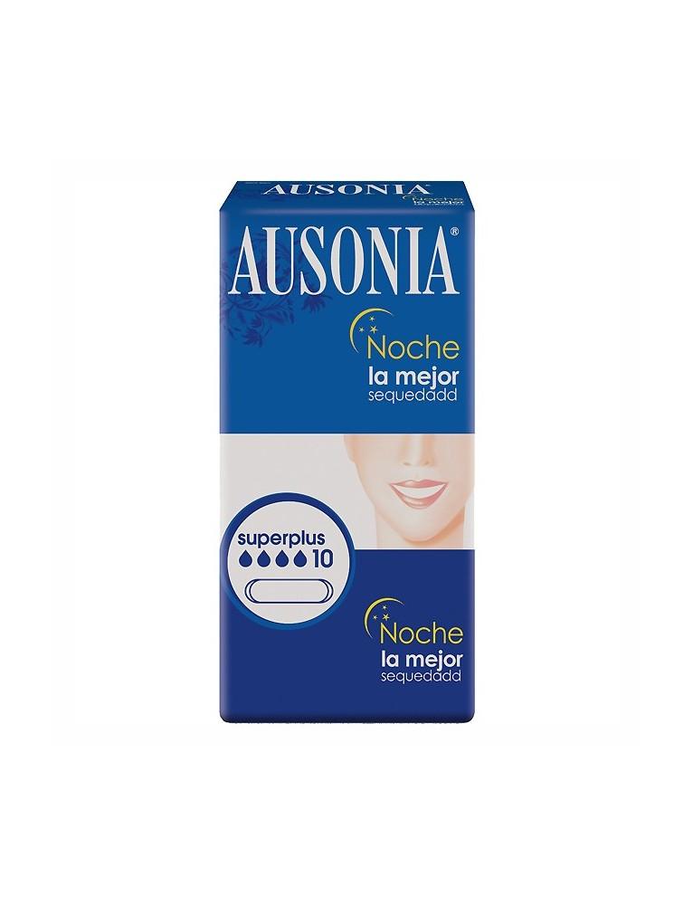 AUSONIA CLASICA COMPRESA NOCHE 10 UDS.
