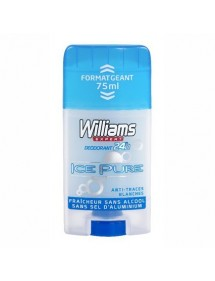 WILLIAMS DESODORANTE STICK ICE ICE PURE 75 ML