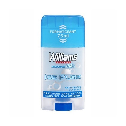 WILLIAMS DESODORANTE STICK ICE ICE PURE 75 ML