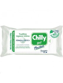CHILLY TOALLITAS INTIMAS GEL FRESCO 12 UDS