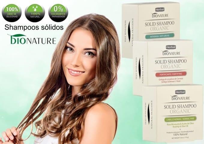 Shampoos sólidos bioNATURE