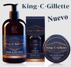 King C. Gillette y cuidado de barba de calidad