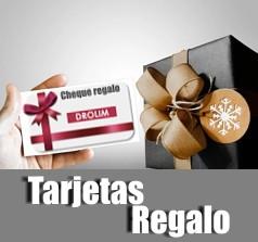 Compra online tu tarjeta regalo digital Drolim y envía por email a la persona querida, con tu mensaje personal.
